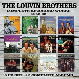 Louvin Brothers - Complete Recorded Works 1952-1962 ( in the group CD / Country at Bengans Skivbutik AB (1093197)