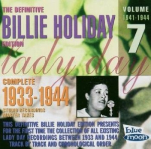 Holiday Billie - Complete Master Takes/Vol.7 1941-44 in the group CD / Jazz/Blues at Bengans Skivbutik AB (1107903)