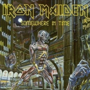 Iron Maiden - Somewhere In Time in the group Campaigns / Vinyl Sale / Classics On Sale at Bengans Skivbutik AB (1113665)