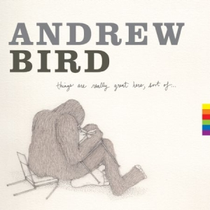 Bird Andrew - Things Are Really Great Here, Sort in the group VINYL / Pop at Bengans Skivbutik AB (1114382)