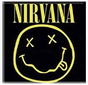 Magnets - Nirvana Fridge Magnet: Smiley in the group OTHER / Merch Magnets at Bengans Skivbutik AB (1129642)