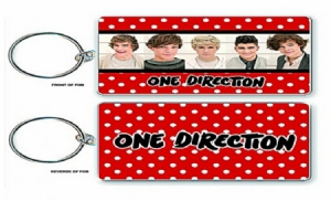 KeyChain - One Direction Keychain: Phase 3 in the group OTHER / Merch Keyrings at Bengans Skivbutik AB (1129680)