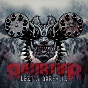 Raubtier - Bestia Borealis (European Edition) in the group CD / Hårdrock/ Heavy metal at Bengans Skivbutik AB (1148908)