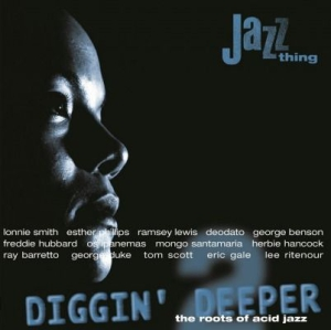 Various artists - Diggin' Deeper Vol.2: The Roots of Acid Jazz in the group VINYL / Jazz/Blues at Bengans Skivbutik AB (1153513)