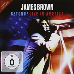 Brown James - Get On Up - Live In America Cd+Dvd in the group CD / RNB, Disco & Soul at Bengans Skivbutik AB (1153947)