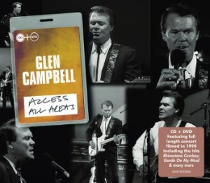 Glen Campbell - Access All Areas - Live (Cd+Dvd) in the group Julspecial19 at Bengans Skivbutik AB (1154828)