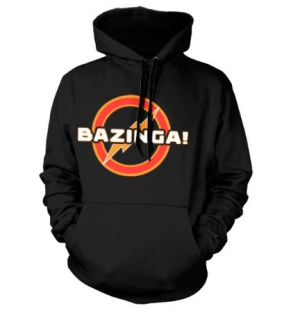 Big Bang Theory - Big Bang Theory Hoodie Bazinga Underground in the group OTHER / Merchandise at Bengans Skivbutik AB (1165214)
