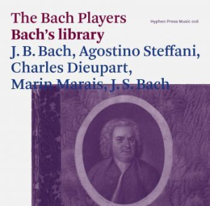 Bach Players,The - Bach's Library in the group CD / Klassiskt at Bengans Skivbutik AB (1165682)