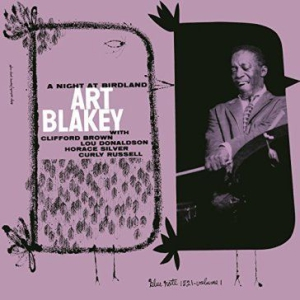 Art Blakey - Night At Birdland 1 (Vinyl) in the group VINYL / Vinyl Jazz at Bengans Skivbutik AB (1318265)