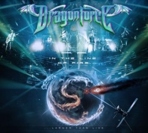 Dragonforce - In The Line Of Fire in the group MUSIK / Musik Blu-Ray / Hårdrock/ Heavy metal at Bengans Skivbutik AB (1477120)