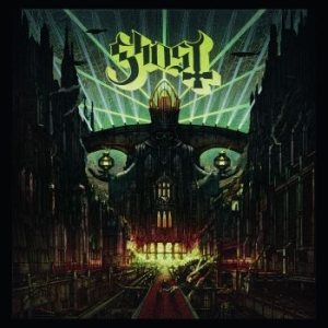 Ghost - Meliora (Red/White Vinyl) in the group VINYL / Hårdrock/ Heavy metal at Bengans Skivbutik AB (1529748)