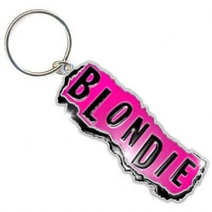 Blondie - Punk Logo Metal Keychain in the group OTHER / Merch Keyrings at Bengans Skivbutik AB (1533594)