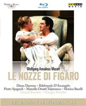 Mozart - Nozze Di Figaro (Bd) in the group  at Bengans Skivbutik AB (1555228)