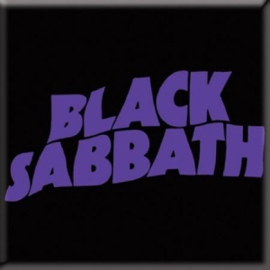 Black Sabbath - Black Sabbath - Wavy Logo Fridge Magnet in the group OTHER / Merch Magnets at Bengans Skivbutik AB (1556194)