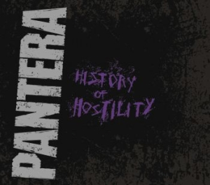 Pantera - History Of Hostility in the group CD / Hårdrock/ Heavy metal at Bengans Skivbutik AB (1703910)