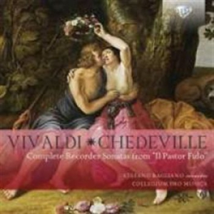 Vivaldi, Antonio / Chédeville, Nico - Complete Recorder Sonatas From Il P in the group CD / Övrigt at Bengans Skivbutik AB (1733731)
