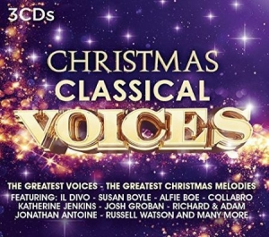 Various artists - Christmas - Classical Voices (3CD) in the group CD / CD Christmas Music at Bengans Skivbutik AB (1840625)