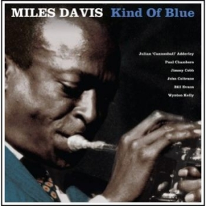 DAVIS MILES - Kind Of Blue (Blue Vinyl) in the group VINYL / Jazz/Blues at Bengans Skivbutik AB (1883916)
