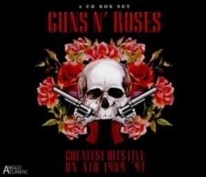 Guns N' Roses - Greatest Hits Live (4Cd) in the group CD / Rock at Bengans Skivbutik AB (1916359)