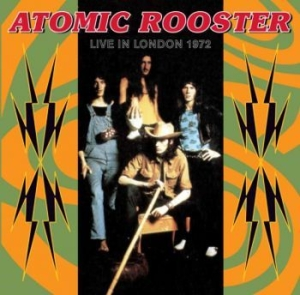 Atomic Rooster - Live In London 27Th July 1972 in the group CD / Upcoming releases / Pop at Bengans Skivbutik AB (2102384)