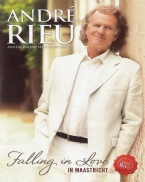 André Rieu Johann Strauss Orchestr - Falling In Love In Maastricht (Dvd) in the group Campaigns / BlackFriday2020 at Bengans Skivbutik AB (2109747)