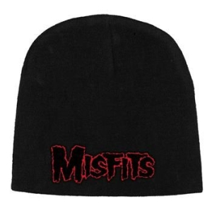 Misfits - Beanie Hat Red Logo in the group OTHER / Merch Beanie Hats at Bengans Skivbutik AB (2283732)