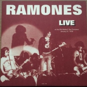 Ramones - Live At The Old Waldorf S.F. 1987 in the group Julspecial19 at Bengans Skivbutik AB (2310081)