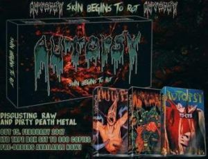 Autopsy - Skins Begins To Rot (Tape Box) in the group MUSIK / MC / Hårdrock/ Heavy metal at Bengans Skivbutik AB (2414843)