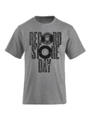 Record Store Day - T-Shirt Grey in the group OTHER / Merch Bengans T-shirts at Bengans Skivbutik AB (2456184)