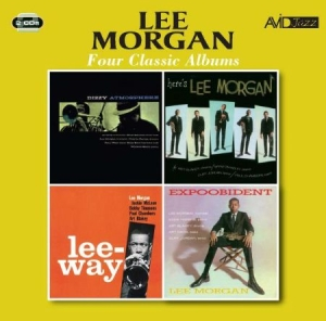 Morgan Lee - Four Classic Albums in the group CD / Jazz/Blues at Bengans Skivbutik AB (2528463)