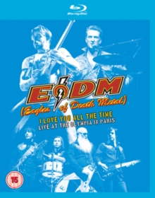 Eagles Of Death Metal - I Love You All The Time - Live (Br) in the group MUSIK / Musik Blu-Ray / Hårdrock/ Heavy metal at Bengans Skivbutik AB (2530062)