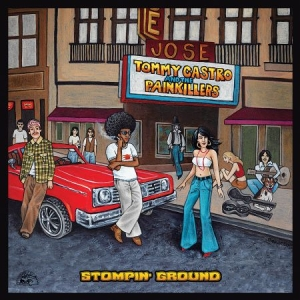 Castro Tommy & The Painkillers - Stompin' Ground in the group CD / Jazz/Blues at Bengans Skivbutik AB (2540172)