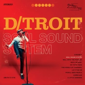 D/Troit - Soul Sound System in the group VINYL / RNB, Disco & Soul at Bengans Skivbutik AB (2545026)