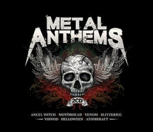 Various - Metal Anthems in the group CD / Hårdrock/ Heavy metal at Bengans Skivbutik AB (2547783)