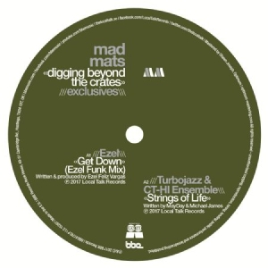 Blandade Artister - Mad Mats Presents Digging Bryond Th in the group VINYL / Dans/Techno at Bengans Skivbutik AB (2560847)