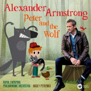 Alexander Armstrong - Peter And The Wolf in the group CD / Upcoming releases / Pop at Bengans Skivbutik AB (2561626)