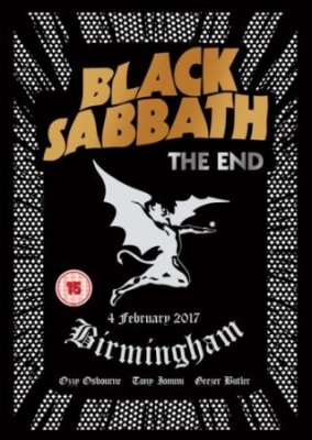 Black Sabbath - The End (Dvd) in the group OTHER / Music-DVD & Bluray / Kommande at Bengans Skivbutik AB (2572247)