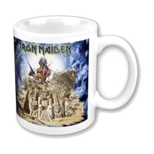 Iron Maiden - Mug - Somewhere Back In Time in the group Campaigns / Musicstuff & Clothes at Bengans Skivbutik AB (263153)