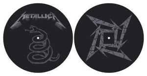 Metallica - The Black Album - Slipmat in the group Campaigns / Vinyl Sale / Slipmats at Bengans Skivbutik AB (2645221)