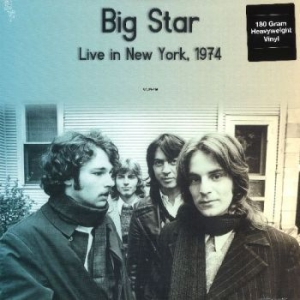 Big Star - Live In New York Wlir-Fm 1974 in the group VINYL / Rock at Bengans Skivbutik AB (2661429)