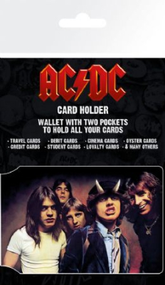 AC/DC - AC/DC Card Holder Wallet in the group Campaigns / BlackFriday2020 at Bengans Skivbutik AB (2990297)