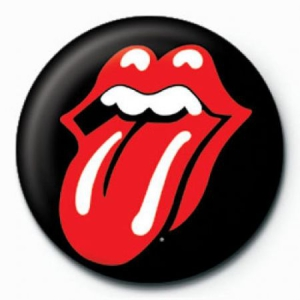 Rolling Stones - Rolling Stones Button Badge Pin 25 mm (Lips) in the group Minishops / Rolling Stones at Bengans Skivbutik AB (2992649)