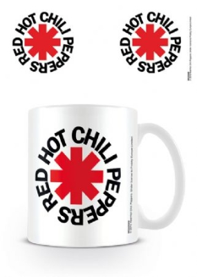 Red Hot Chili Peppers - Red Hot Chili Peppers Mug (Logo White) in the group Julspecial19 at Bengans Skivbutik AB (2996523)
