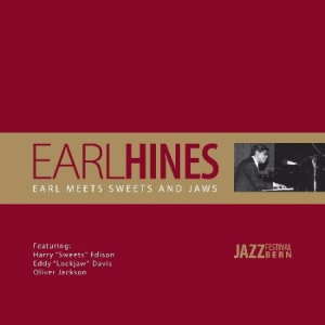 Earl Hines - Earl Meets Sweets And Jaws in the group VINYL / Jazz/Blues at Bengans Skivbutik AB (3043105)