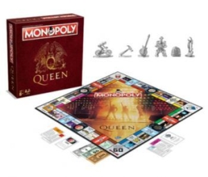 Queen - The Queen Monopoly in the group OTHER / Merch Monopoly And Puzzle at Bengans Skivbutik AB (3114129)