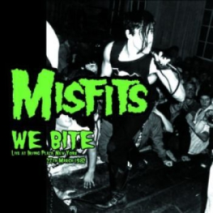 Misfits - We Bite: Irving Plaza New York 1982 in the group CD / Upcoming releases / Rock at Bengans Skivbutik AB (3116438)