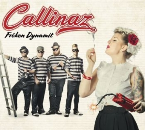Callinaz - Fröken Dynamit in the group CD / New releases / Pop at Bengans Skivbutik AB (3204568)