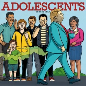 Adolescents - Cropduster in the group VINYL / Rock at Bengans Skivbutik AB (3233950)