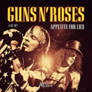Guns N' Roses - Appetite For Lies (4Cd) in the group CD / Hårdrock/ Heavy metal at Bengans Skivbutik AB (3302071)