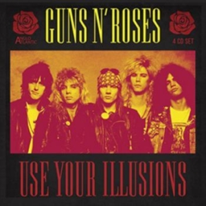 Guns N' Roses - Use Your Illusions (4Cd) in the group CD / Hårdrock/ Heavy metal at Bengans Skivbutik AB (3302073)
